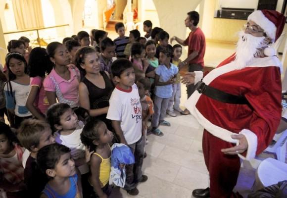 La navidad americanizada en Colombia