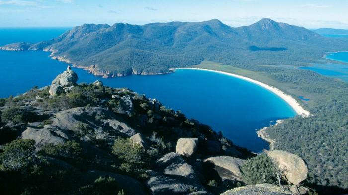 """Tasmania tiene una de las mejores playas """"escondidas"""" del mundo"""