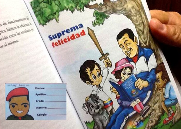 De cómo a los niños los vuelven Chavistas desde la escuela