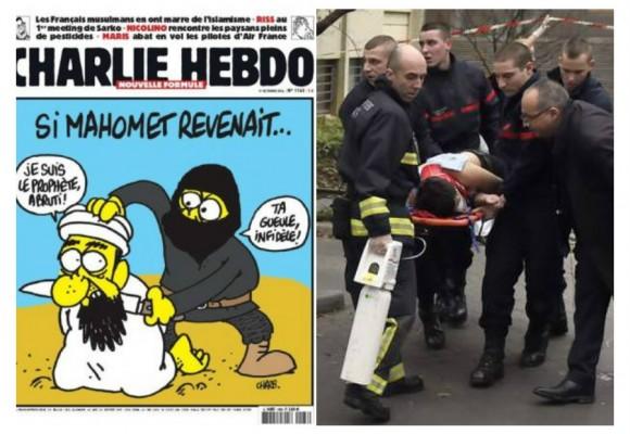 Las caricaturas que enfurecieron a los extremistas musulmanes en París