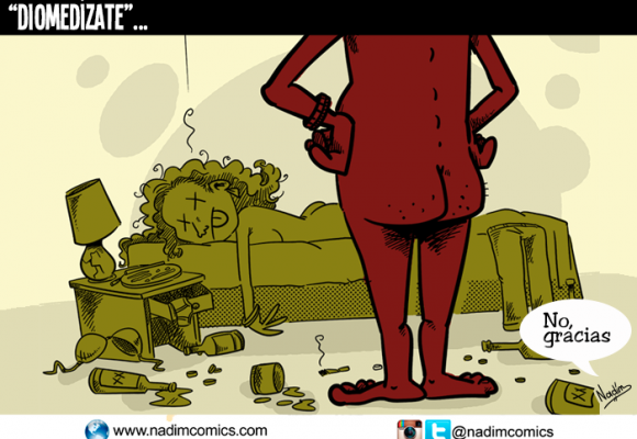 Diomedízate: la caricatura de la semana