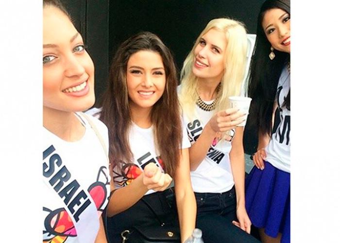 La selfie que puso a temblar Miss Universo