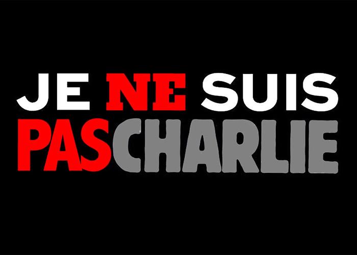 "Je ne suis pas Charlie: ""Yo no soy Charlie"""