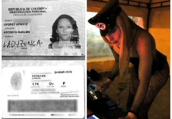 La colombiana que se llamaba ABCDEFG HIJKLMN OPQRST UVWXYZ