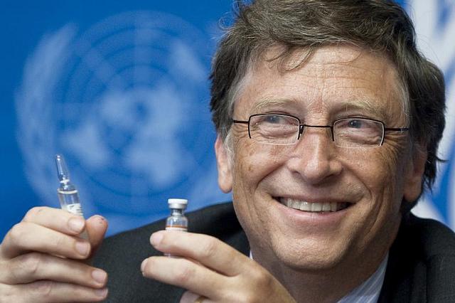 Bill Gates y las vacunas