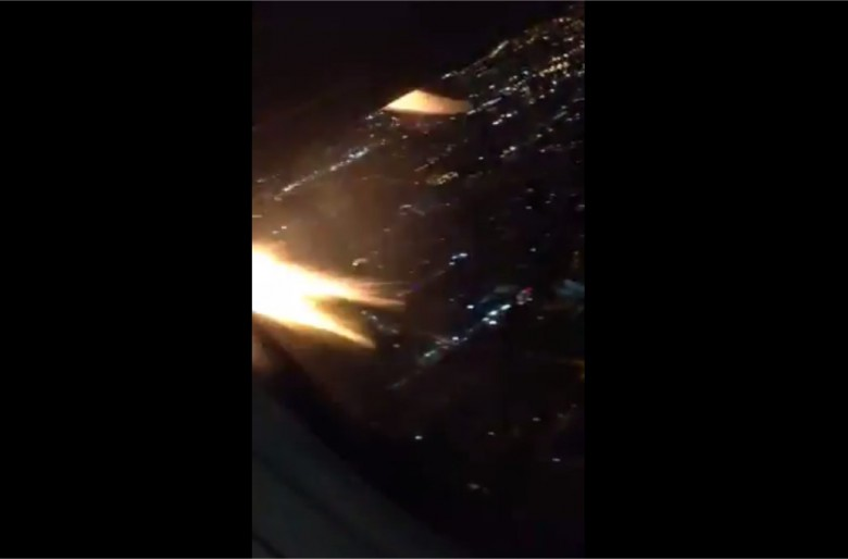Video de la emergencia del vuelo Viva Colombia 8023
