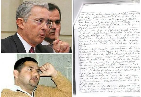 El cuaderno del acusador de Uribe