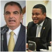 El último cruce entre el ministro Aurelio Iragorri y Yahir Acuña