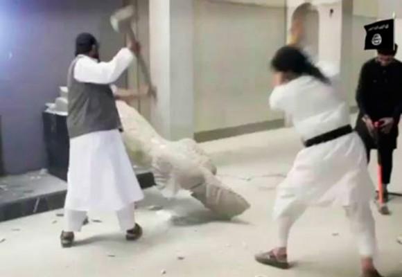 Los crímenes arqueológicos, nueva modalidad del Estado Islámico
