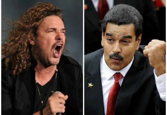 La bronca de Maná contra el régimen Chavista
