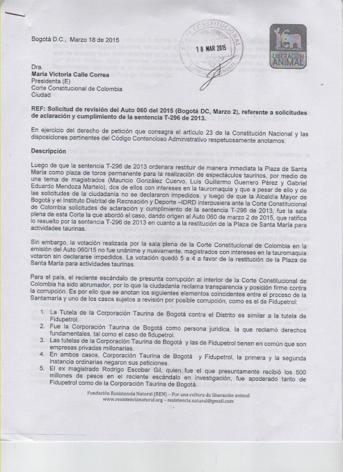 peticion corte REN caso pretelt 1