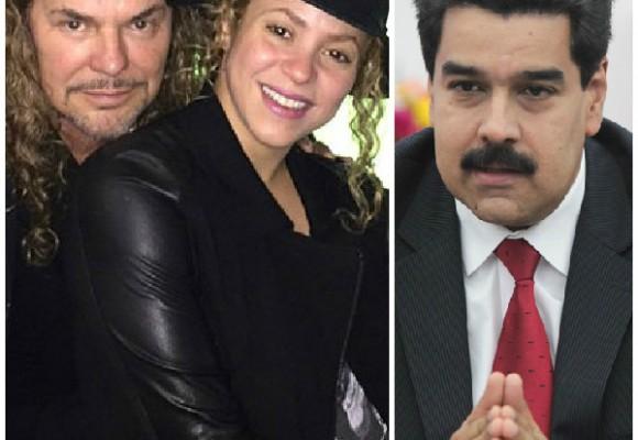 La canción que Maná y Shakira le dedicaron a Nicolás Maduro
