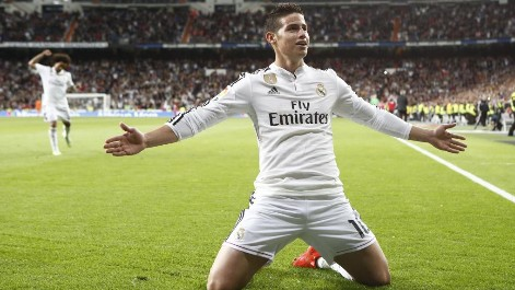 VIDEO: Golazo de James Rodríguez con el Real Madrid