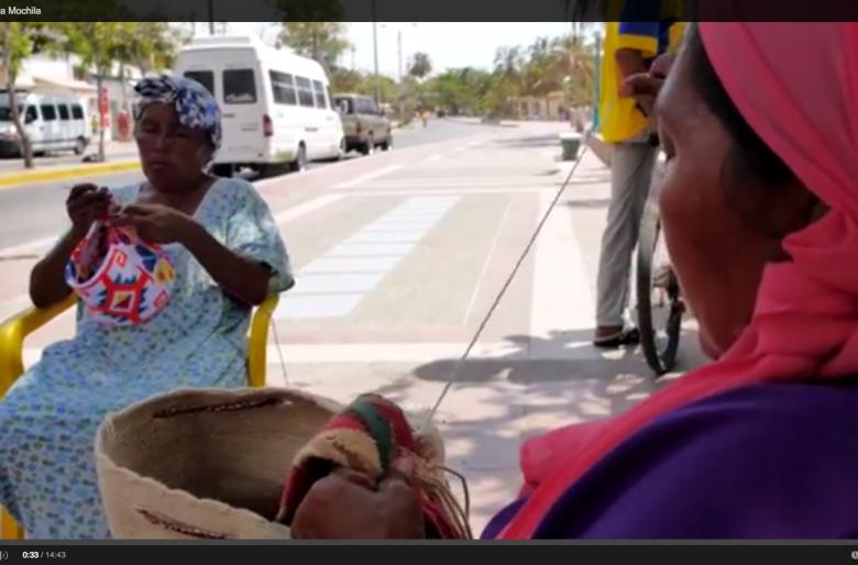 El precio de una mochila wayuu