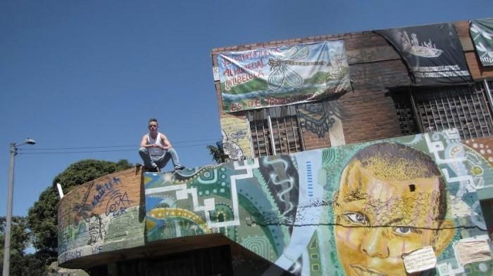 El Centro Experimental Juvenil es parte del movimiento Okupa. Hoy tiene un contrato de comodato con el distrito.Foto de Diego Sánchez