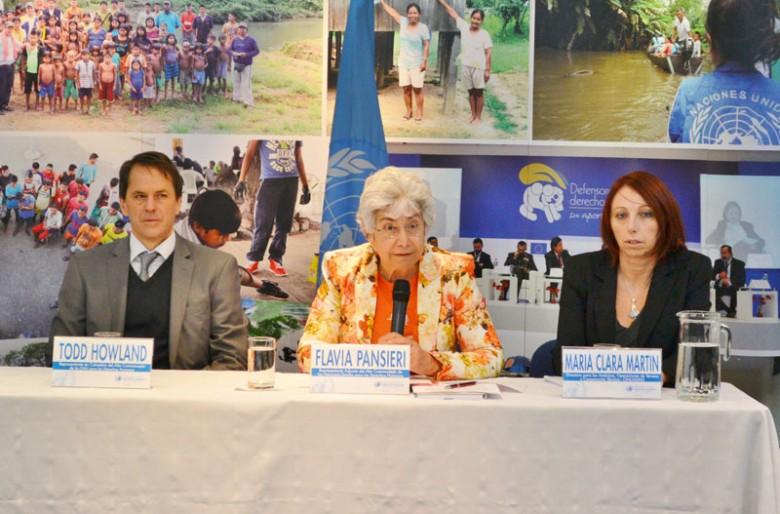 Colombia se raja en examen de derechos humanos