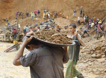 Despojo de pequeños mineros en el sur de Bolívar