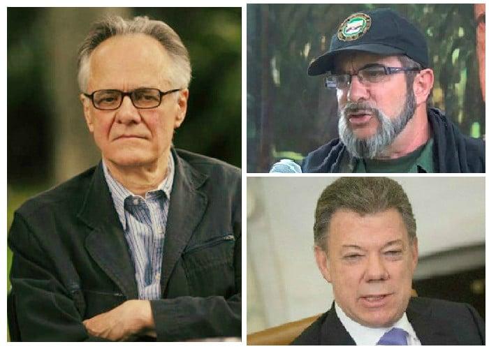 Vallejo se va con todo contra Santos y el proceso de paz