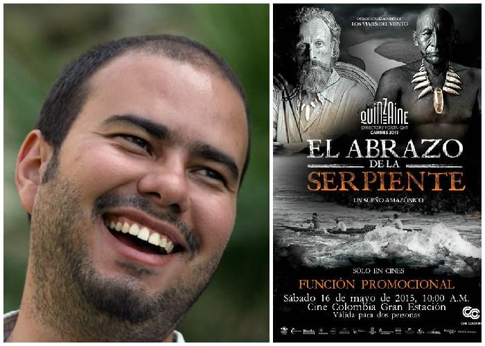 El cineasta colombiano Ciro Guerra, ovacionado durante diez minutos en Cannes