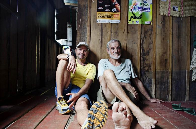 ¿Qué pasó con los dos jesuitas en el Amazonas?