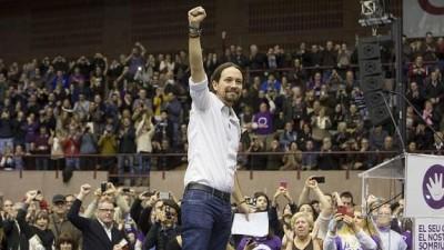 Iglesias en la campaña de tres meses que terminó con cinco eurodiputados