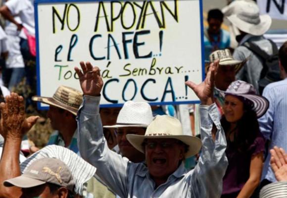 Los cafeteros en Colombia siguen pobres