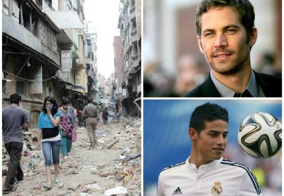 Nepal, James y Paul Walker lo más buscado por los colombianos en abril