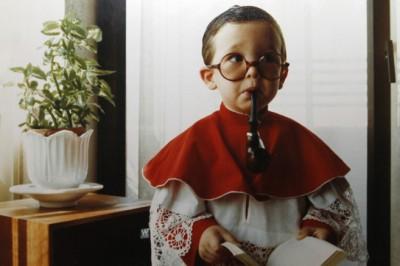 La foto del álbum familiar que guarda su padre en Zamora