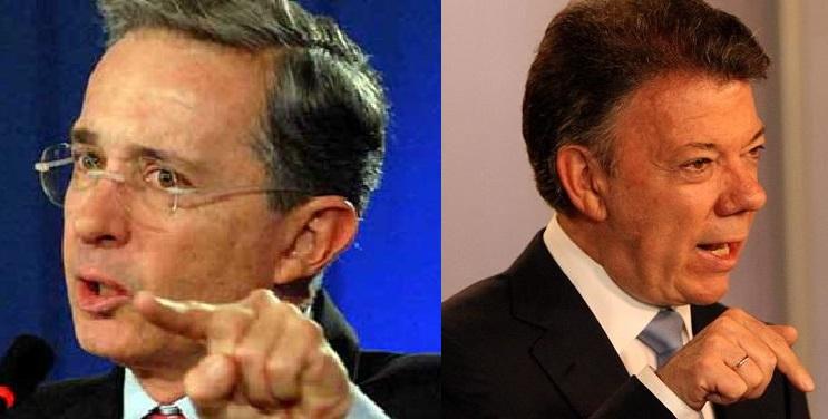 ¿Uribe o Santos? en blanco y negro, como los perros