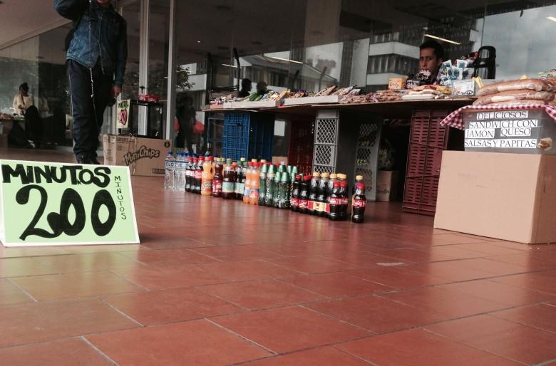 Las ventas informales en la Universidad Nacional