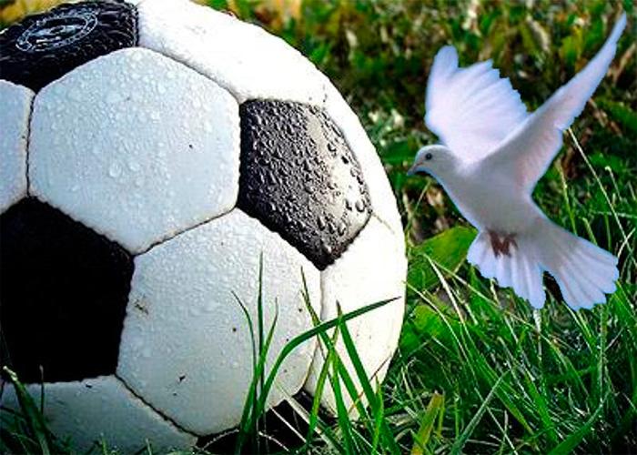 Futbol: alegoría de la paz