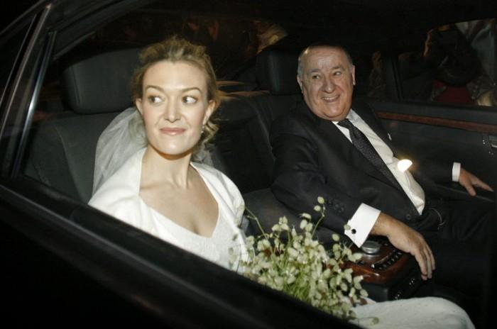 Amancio se recogió desde su viudez hace dos años. Su última aparició pública fue en el matrimonio de su hija Marta.