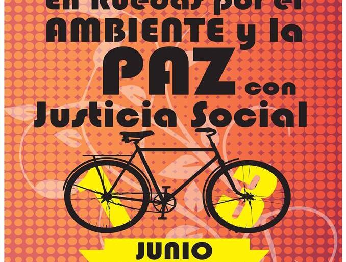 Biciclatón: En ruedas por el ambiente y la paz con justicia social