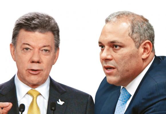 El presidente del Congreso se le rebeló a Santos