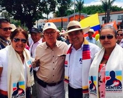 Robledo y Uribe, dos contradictores que se unieron para protestar por el campo
