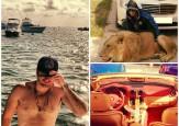 El hijo del Chapo Guzmán: orgías, Ferraris, Ak 47, leones y balas, muchas balas