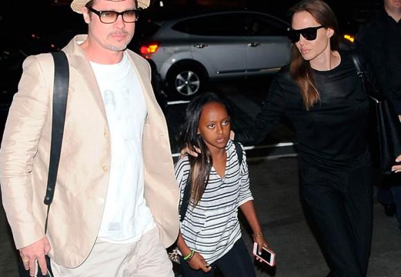 La niña que no quiere ser la hija de Angelina Jolie y Brad Pitt