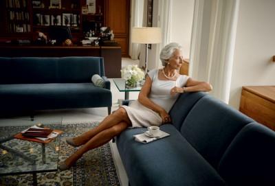Ha sido portada de la revista Vanity Fair Francia, que la ha calificado como la personalidad francesa más influyente del mundo. Foto: Vanity Fair Francia