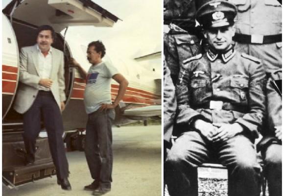 El socio nazi de Pablo Escobar