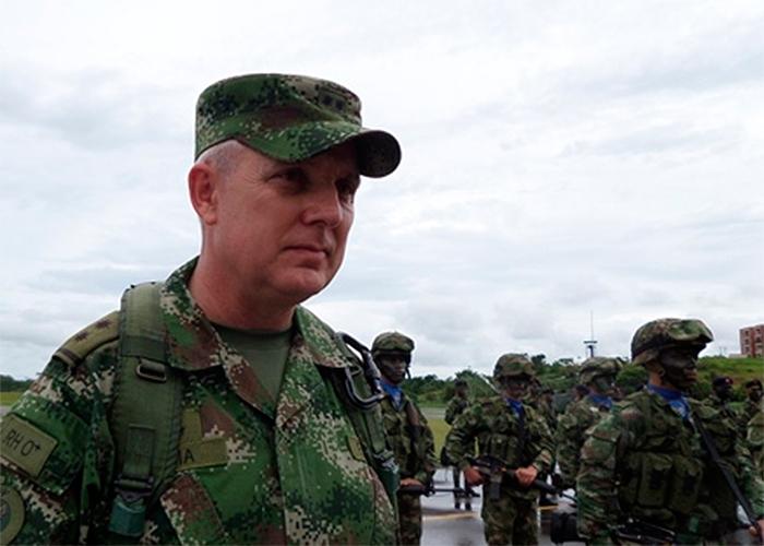 """""""Mi general el Mono Mejía"""" llegó a comandar el Ejército"""