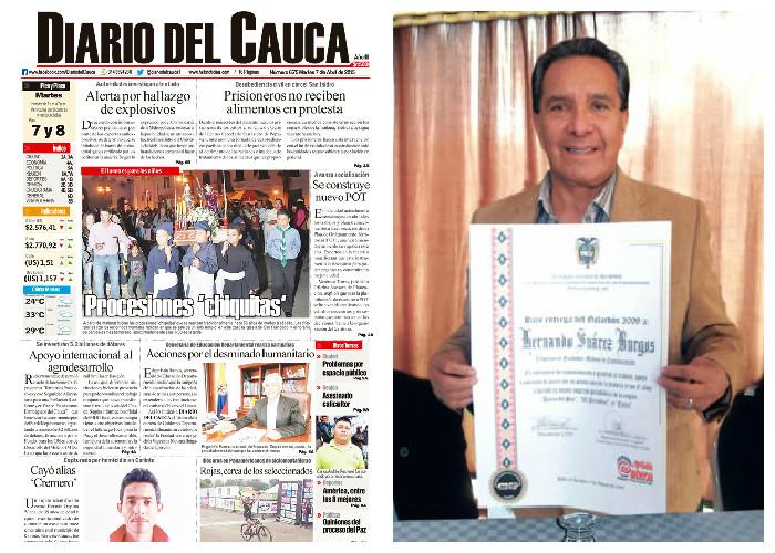 Renuncia masiva en diario de Popayán