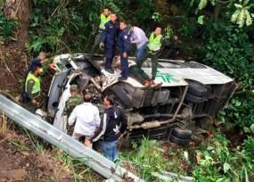 Santos reprograma actividades en Bucaramanga por accidente en la caravana presidencial