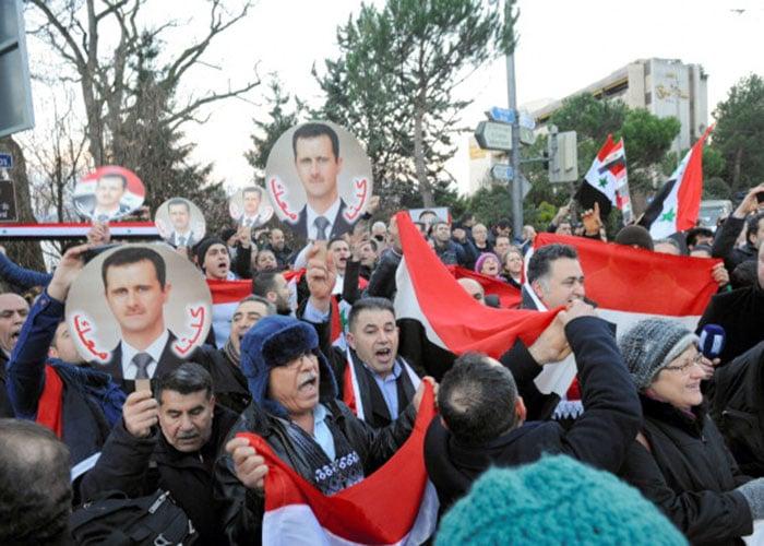 El presidente sirio, Bashar al-Assad, ya ha perdido más de medio país