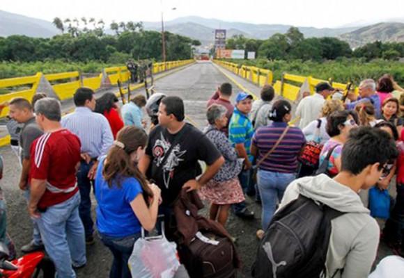 ¿Qué es lo que pasa en la frontera con Venezuela?
