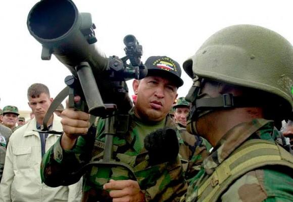 Las armas que Chávez compró para preparar belicamente a Venezuela
