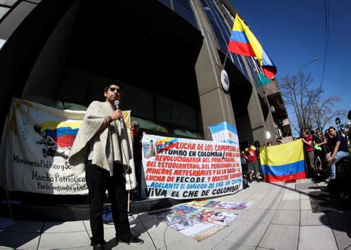 Las canalladas de los colombianos en Argentina