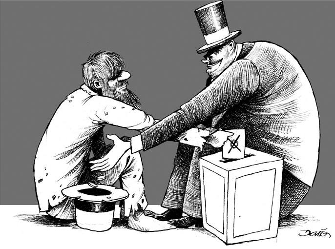 Los elegidos van a recuperar lo que se ha invertido en la compra de votos