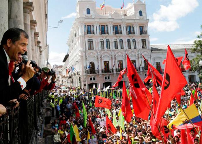 La izquierda que le quedó grande a Rafael Correa