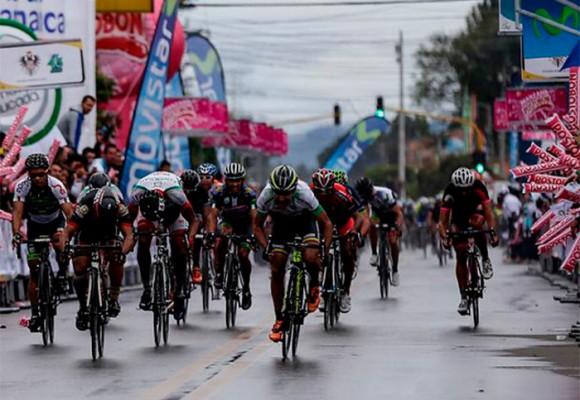La desafortunada Vuelta a Colombia en su llegada a Cota