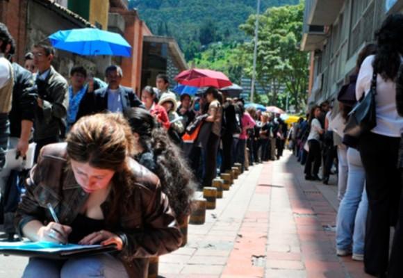Precario panorama laboral en Colombia